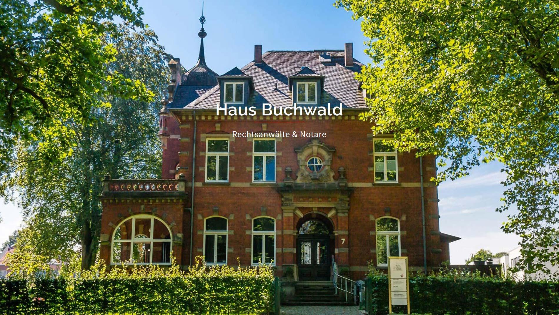 Kanzlei Haus Buchwald